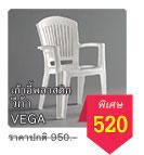 เก้าอี้พลาสติก Vega